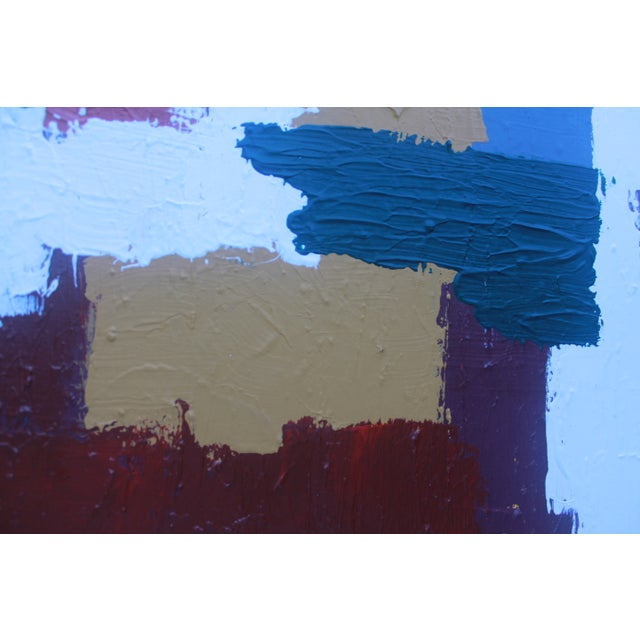 Mid-Century Modern Abstrac Expressionist Painting - Image 4 of 11