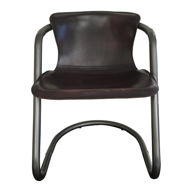 Duke Leather Accent Chairs - Set of 6 - Image 1 of 7
