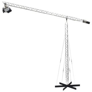 Postmodern Crane Floor Lamp by Curtis Jere