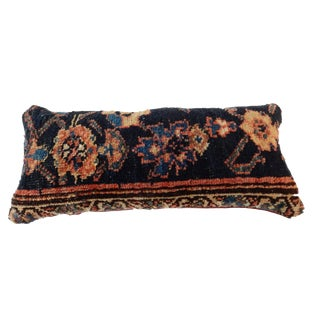 19th Custom Made Antique Lumbar Malayer Pillow
