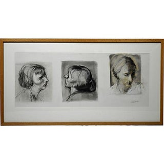 Portaits by Howard Warshaw 1960