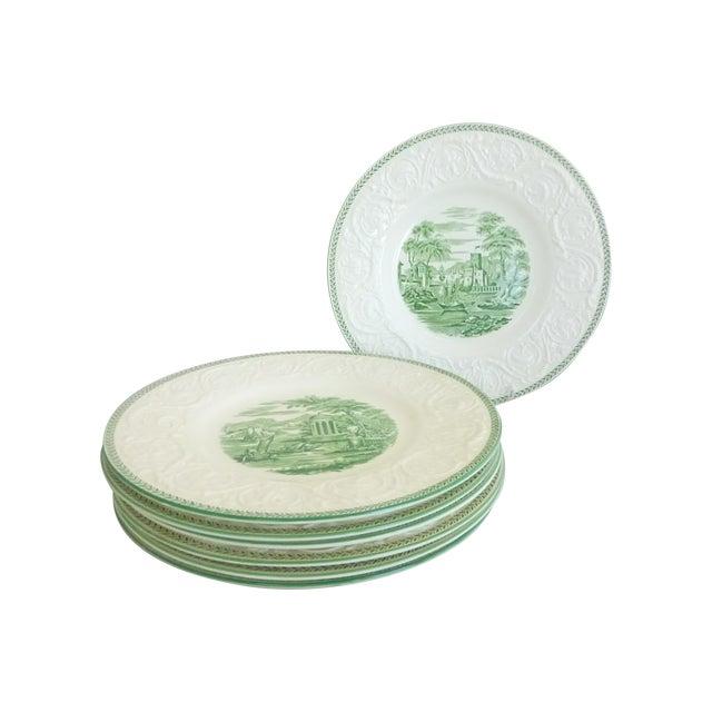 Wedgwood Creamware Dinner Plates - Set of 7 - Image 1 of 11