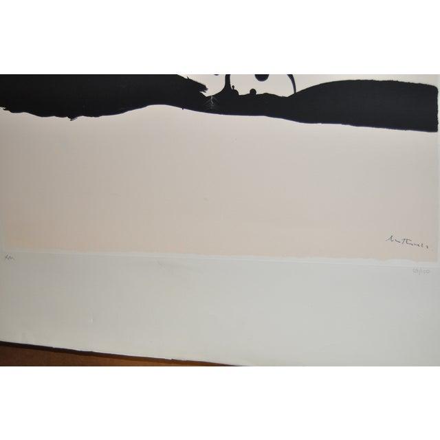 "Robert Motherwell ""Africa No.9"" Silkscreen C.1970 - Image 7 of 8"