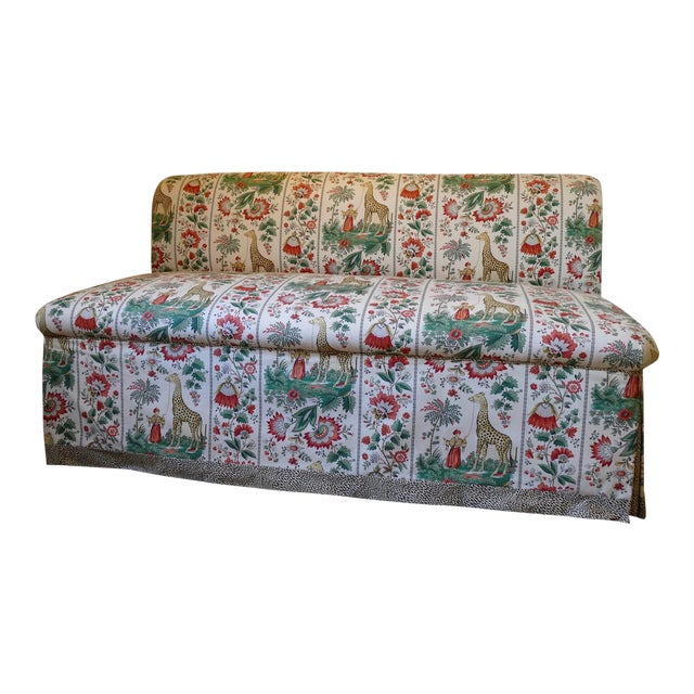 Custom Designer Sofa Banquettes - a Pair - Image 1 of 6
