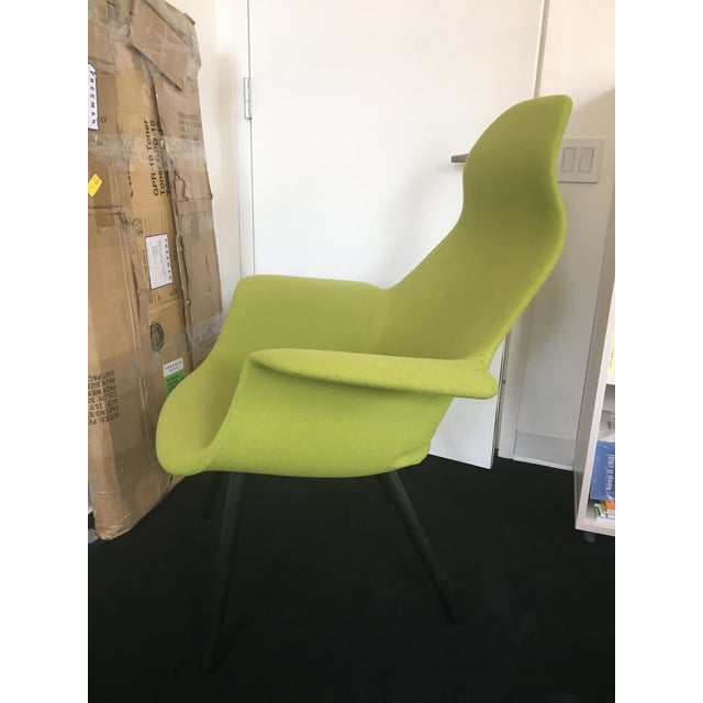 Eero Saarinen and Charles Eames Highback Organic Chair - Image 3 of 3