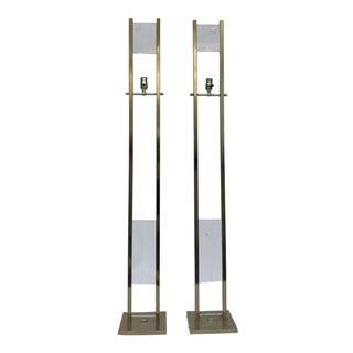 Pierre Cardin Brass Floor Lamps