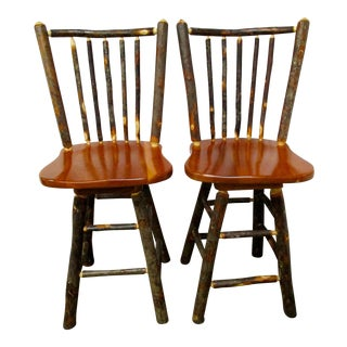 Twig Bar Stools - A Pair