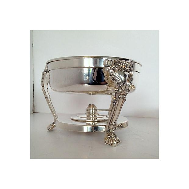 F.B. Rogers Silverplated Chaffing Dish Set - Image 6 of 10