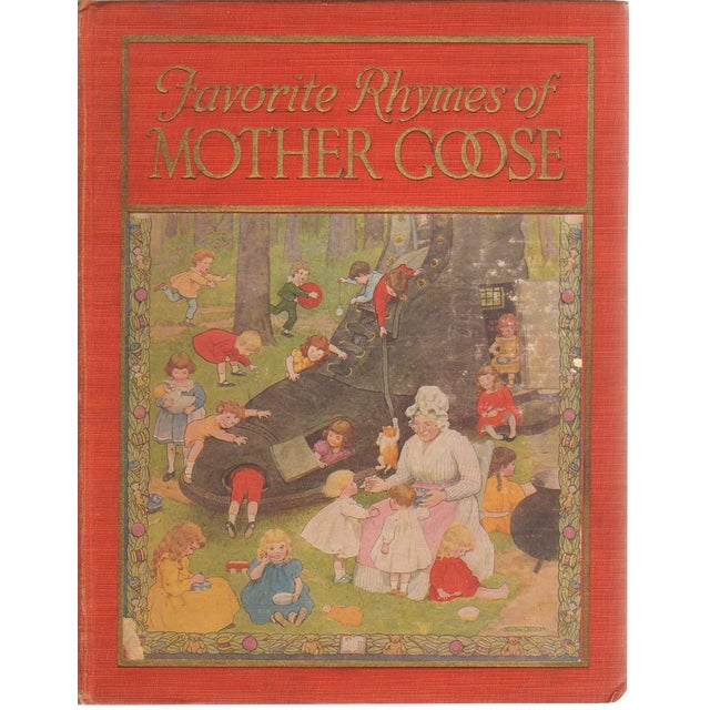"""Favorite Rhymes of Mother Goose"" 1923 Book - Image 1 of 5"