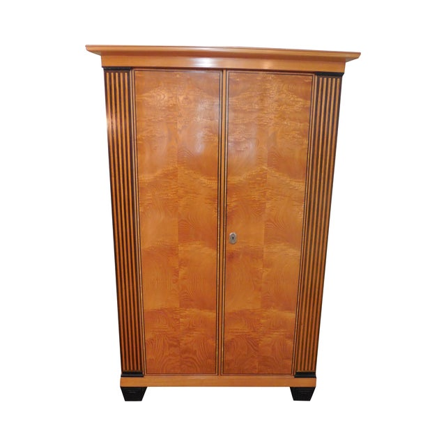 mauritius herrgesell art deco european armoire chairish. Black Bedroom Furniture Sets. Home Design Ideas