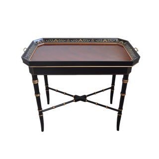 "Kindel ""Varney & Sons"" Tray Top Table"