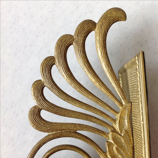 Antique Brass Radius Bookends - A Pair - Image 8 of 11