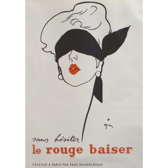 Image of Original Rene Gruau French Sans Hesitation Poster