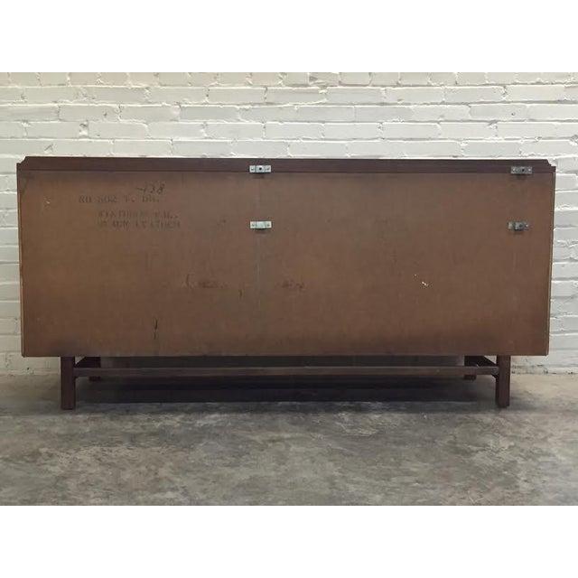Walnut Mid-Century Modern Dresser & Mirror - Image 8 of 11