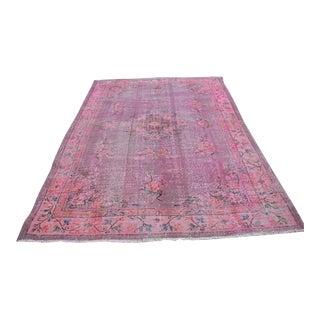 "Turkish Anatolian Wool Oushak Rug - 6'8"" X 9'4"""