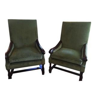 Pearson Custom Armchairs - A Pair