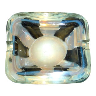 Murano Italian Glass Ashtray