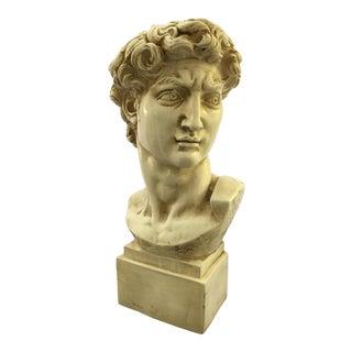 1965 David Bust Sculpture
