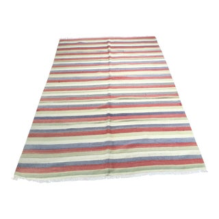 "Bellwether Rugs Vintage Turkish Kilim Rug - 4'5"" x 7'"
