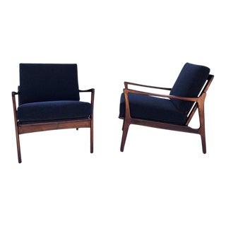 Alpaca Mid-Century Chairs - A Pair