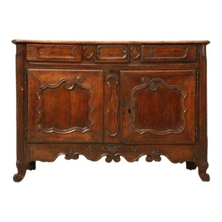 Phenomenal Petite Early 18th C. French Louis XV 3 over 2 Buffet