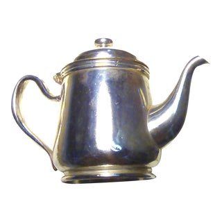 Vintage Small Silver Plated Teapot