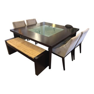 West Elm Square Dining Set