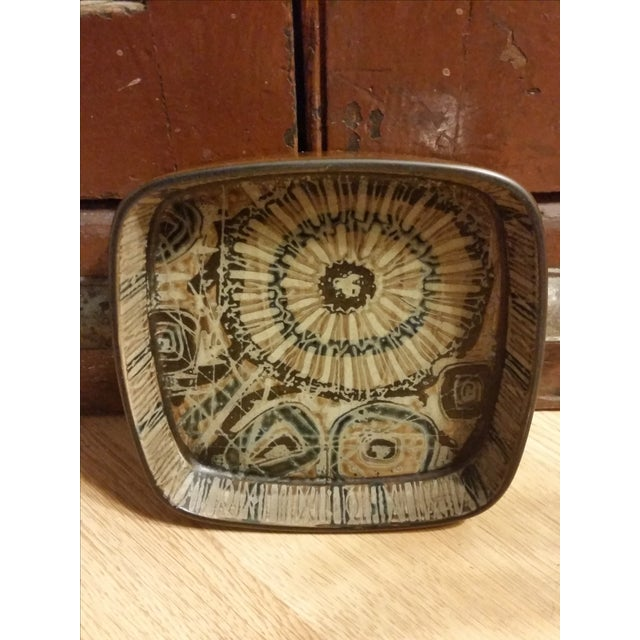 1970s Nils Thorsson Baca Series Faience Bowl - Image 3 of 6