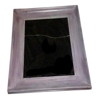 Large Lavender Wood Frame