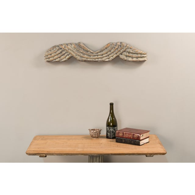 Sarreid LTD Carved Wall Hanging - Image 3 of 4