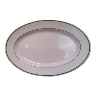 Vintage Buffalo China Large Oval Serving Platter