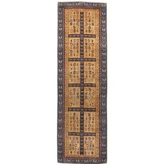"Handmade Persian Runner Rug - 2'10""x 10'"