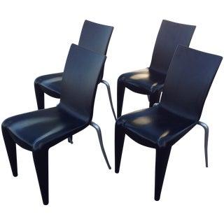 Philippe Starck Black Louis 20 Chairs, Vitra - 4