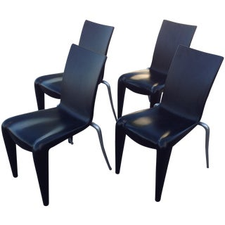 Philippe Starck Black Louis 20 Chairs, Vitra - 4
