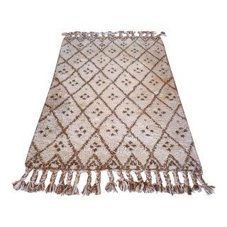 Vintage Handmade Moroccan Rug