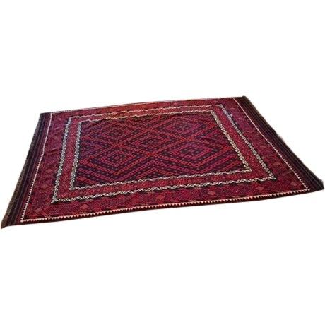 """Hand Woven Morocaan Inspired Rug - 8'6"""" x 11'8"""" - Image 1 of 6"""