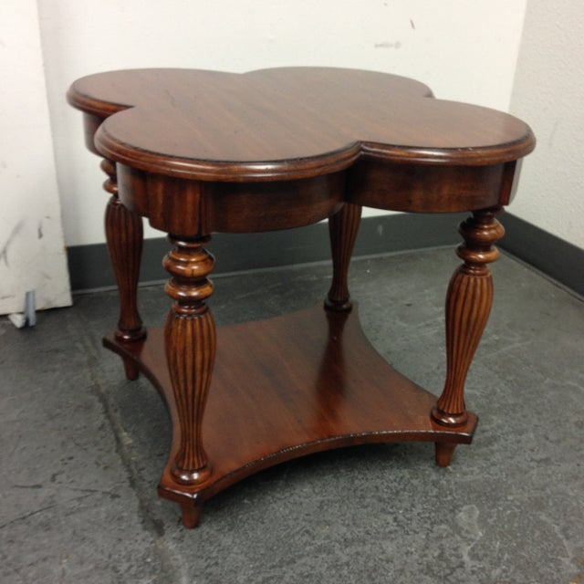 Harden Cloverleaf Accessory Table - Image 4 of 9