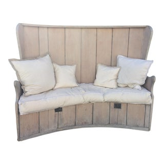 Swedish Pine Bench/Settee