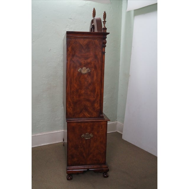 Theodore Alexander Mahogany Chippendale Highboy - Image 3 of 10