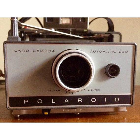 Vintage Polaroid Land Camera Model 230 - Image 3 of 6
