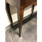 Image of Henredon Inlaid Oak French Country Console / Sofa Table