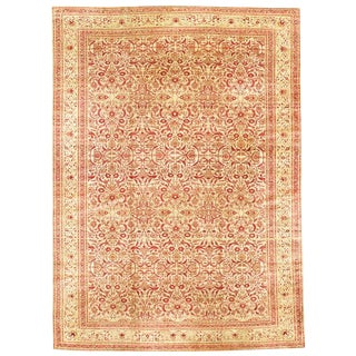 Herati Patterned Tabriz Carpet