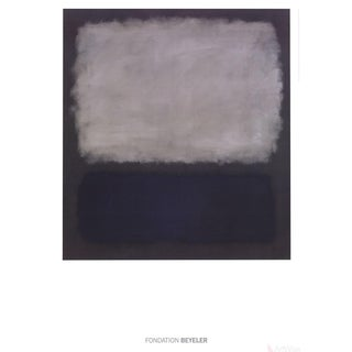 Mark Rothko Blue & Gray 2015 Poster