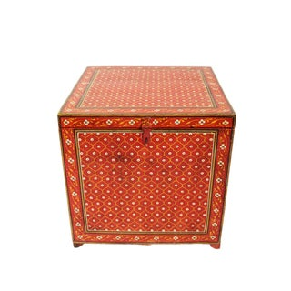 Painted Indian Side Table