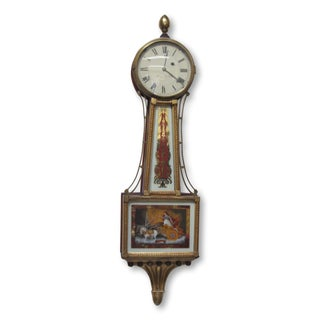 1825 Presentation Aurora Banjo Clock