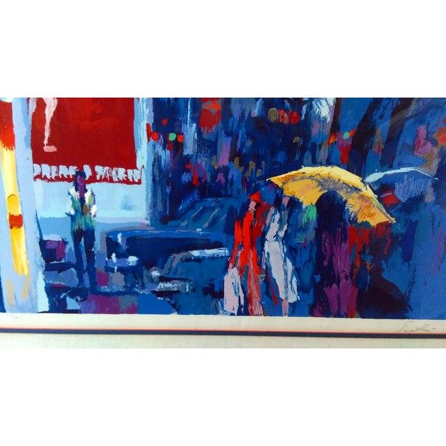 """Nicola Simbari """"Paris at Dusk"""" Serigraph - Image 3 of 9"""