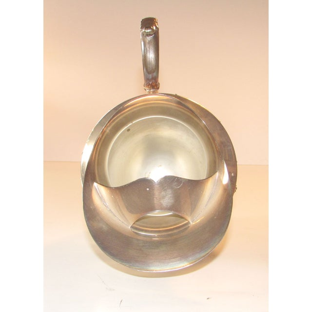 Silver Plated Water Pitcher - Image 3 of 4