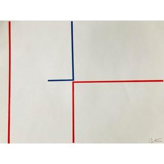 "Jason Trotter Original Acrylic Painting ""Line Configuration JET0476"""