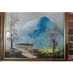 Image of 1998 Winter Landscape Lodge