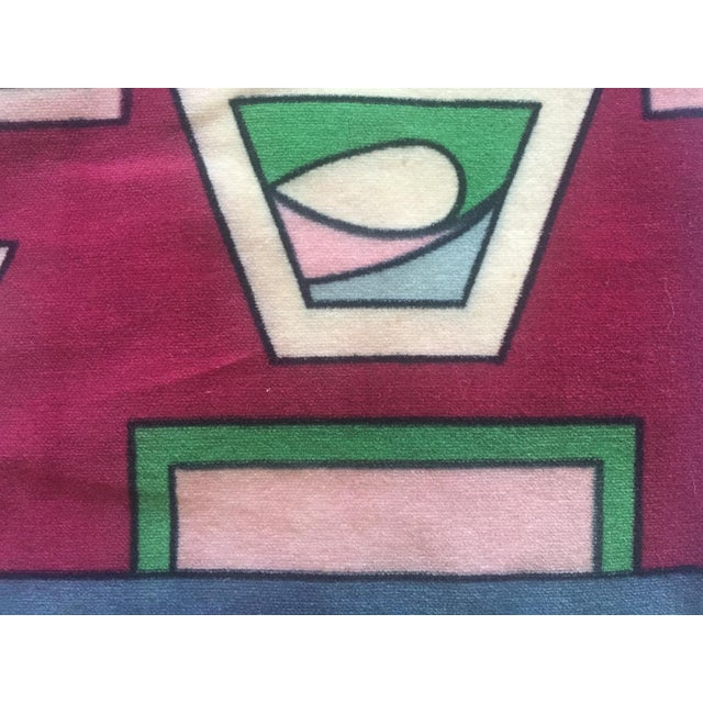 Vintage Pucci Style Velvet Throw Pillow Cover - Image 8 of 9